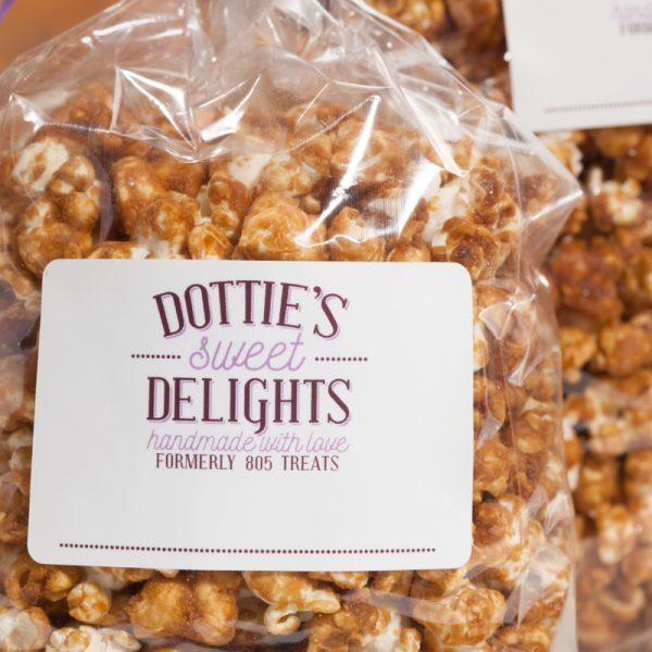 Dotties Caramel Corn Bag