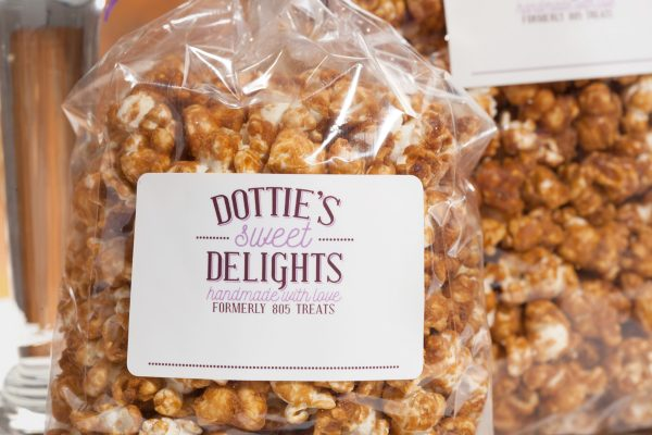 Dotties Caramel Corn Bag